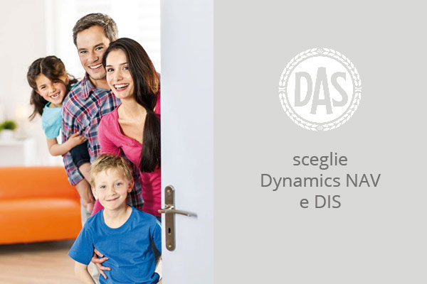 DAS identifica Microsoft Dynamics NAV come la soluzione per lavorare per ricostruire il suo sistema informatico