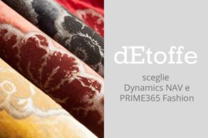 d'Etoffe sceglie Dynamics NAV e PRIME365 Fashion