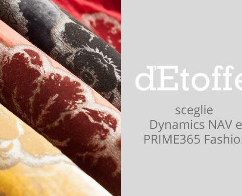 PRIME365 Fashion è la soluzione scelta da D'Etoffe