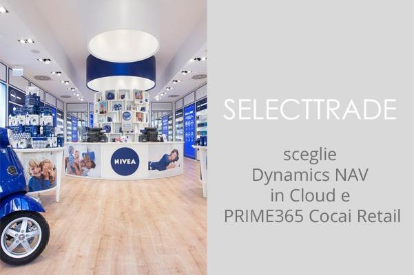 SelecTTrade sceglie PRIME365 Cocai Retail e NAV 2013 per il lancio di una nuova catena di negozi di Nivea