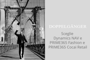 Doppelgänger ha scelto Microsoft Dynamics NAV con PRIME365 Fashion e PRIME365 Cocai Retail in cloud
