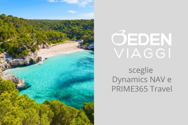 Eden Viaggi rinnova i propri processi amministrativi e di controllo di gestione con Microsoft Dynamics e PRIME365 Travel