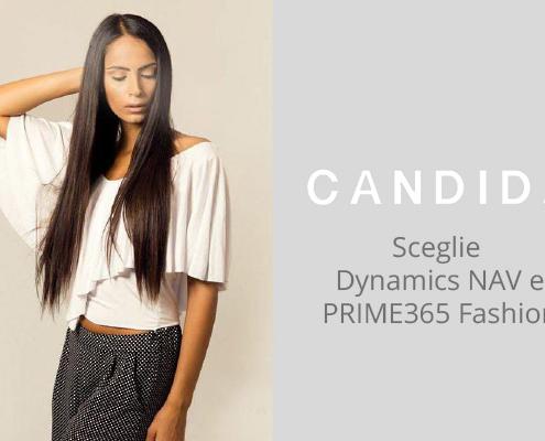 Candida sceglie PRIME365 Fashion per migliorare l'efficienza e la capacità di controllo aziendale