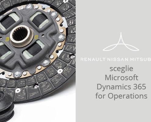 Il gruppo Nissan-Renault-Mitsubishi sceglie Microsoft Dynamics 365 for Operations per la neo acquisita PiVi Ricambi