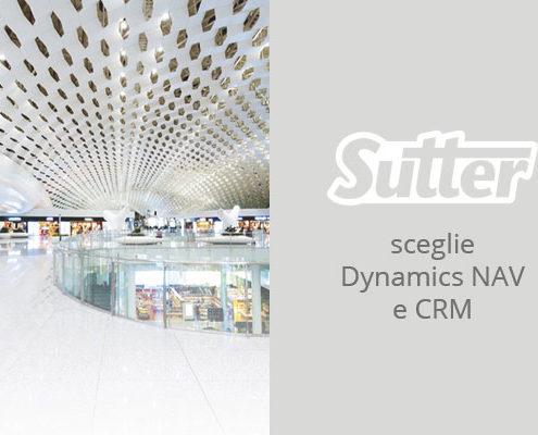 Sutter ha scelto Microsoft Dynamics NAV E CRM per gestire in maniera innovativa i suoi processi aziendali