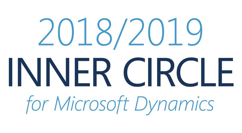 Var Prime confermata tra i membri del 2018/2019 Inner Circle for Microsoft Dynamics, un prestigioso gruppo che include l'1% dei partner Dynamics.