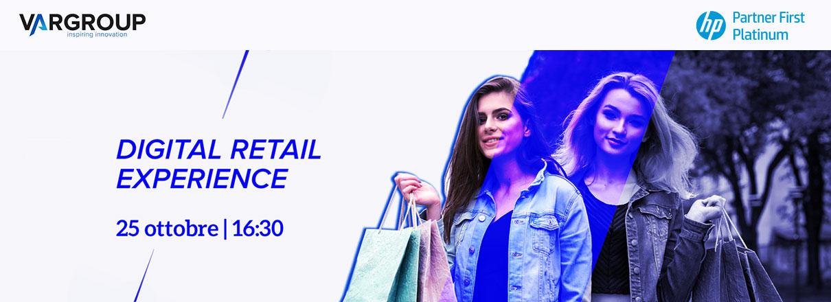 Digital retail experience