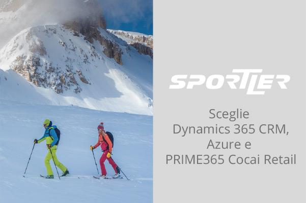 Sportler ha scelto Dynamics 365 CRM e Azure per semplificare i suoi processi marketing e PRIME365 Cocai Retail per la gestione integrata delle operazioni di cassa.