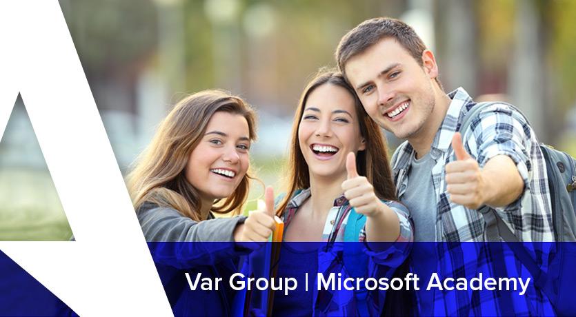 Var Group organizza una Microsoft Academy rivolta a neo laureati e/o laurendi con massimo 30 anni.
