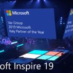 """Var Group ha vinto il premio """"Microsoft Country Partner of the Year"""" per l'Italia e verrà premiata ufficialmente durante Microsoft Inspire."""