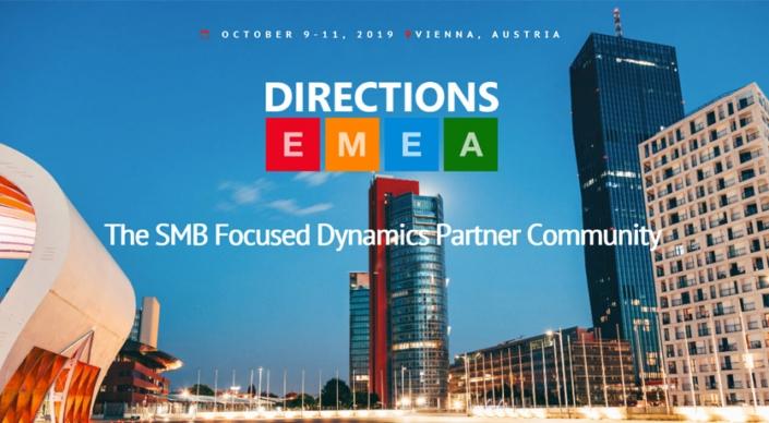 Var Prime partecipa a Directions EMEA, la conferenza annuale organizzata dai partenr dei canali ERP e CRM focalizzata sul mercato delle PMI.