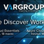 Se vuoi approfondire e consolidare le tue conoscenze sul cloud Microsoft, non perdere i prossimi Azure workshop a Treviso, il 18 marzo.