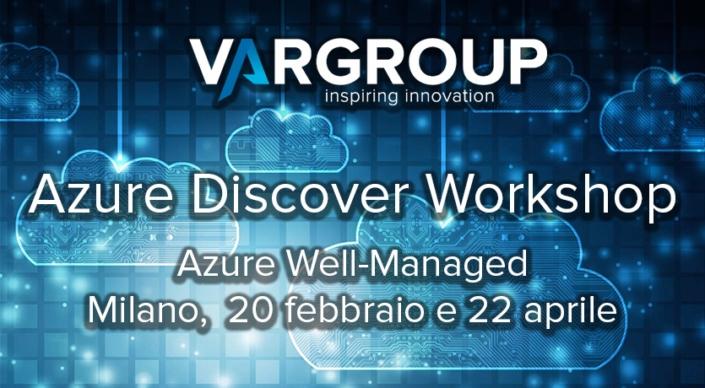 Se vuoi approfondire e consolidare le tue conoscenze sul cloud Microsoft, non perdere i prossimi Azure workshop a Milano, il 20 febbraio e il 22 aprile.