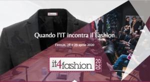 Firenze 28 e 29 aprile. Var Prime e Var Group ti invitano a IT4Fashion, l'appuntamento annuale in cui si incontrano il mondo del fashion e della tecnologia.