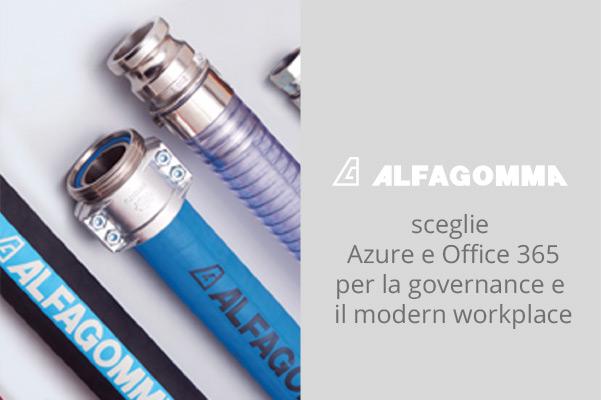 Alfagomma ha scelto Microsoft Office 365, Azure ed Enterprise Mobility+ Security per centralizzare la gestione e proteggere i sistemi informativi del Gruppo.