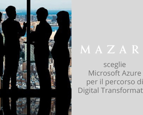 Mazars ha scelto Var Group per il suo percorso di trasformazione digitale e grazie ad Azure ha abbattuto i vincoli imposti dall'hardware on premise.