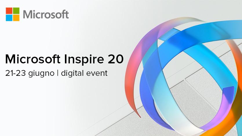 Scopri con Var Prime le novità di Microsoft Inspire 2020, l'evento annuale dedicato all'ecosistema dei partner Microsoft.