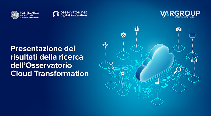Convegno Osservatorio Cloud Transformation