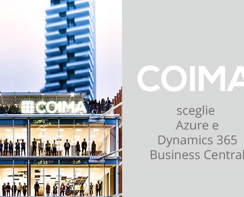 Coima ha scelto Microsoft Azure e Dynamics 365 Business Central per il suo percorso di digital transformation insieme a Var Group.