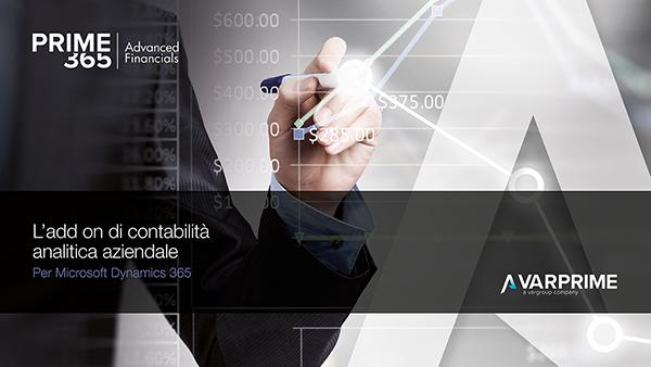 Copertina AppSource Prime365 Advanced Financials