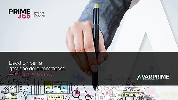 Copertina AppSource Prime365 Project Service