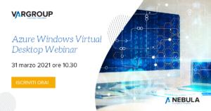 Webinar Azure Windows Virtual Desktop