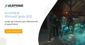 Microsoft Ignite 2021 - Novità