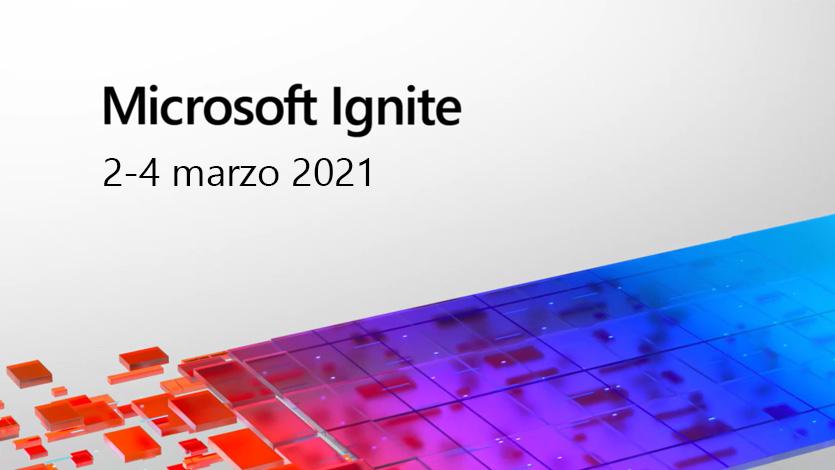Scopri sono noi i più interessanti annunci da Ignite 2021, l'annuale conferenza di Microsoft dedicata a sviluppatori e professionisti IT.