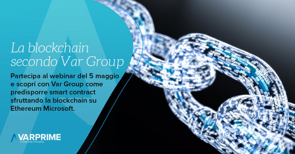La blockchain secondo Var Group