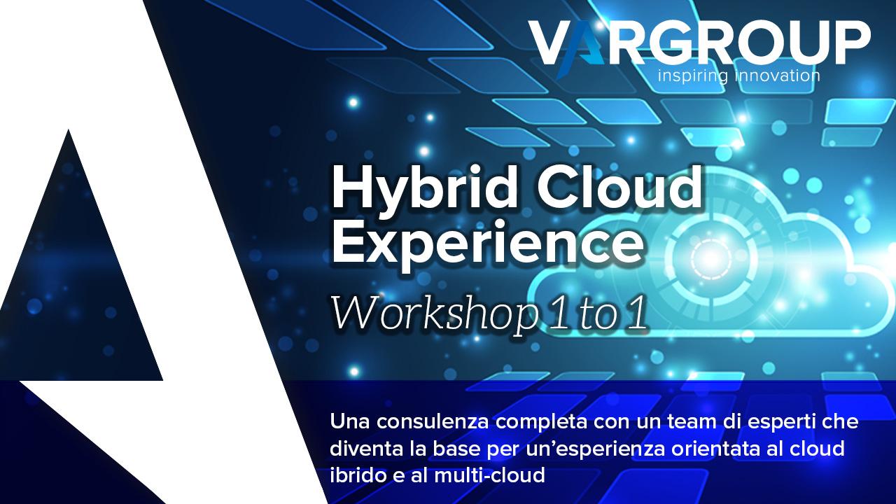 Hybrid Cloud Experience Workshop 1to1