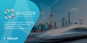 Ixellion sceglie la blockchain basata su Microsoft Azure