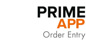 Prime App Order Entry