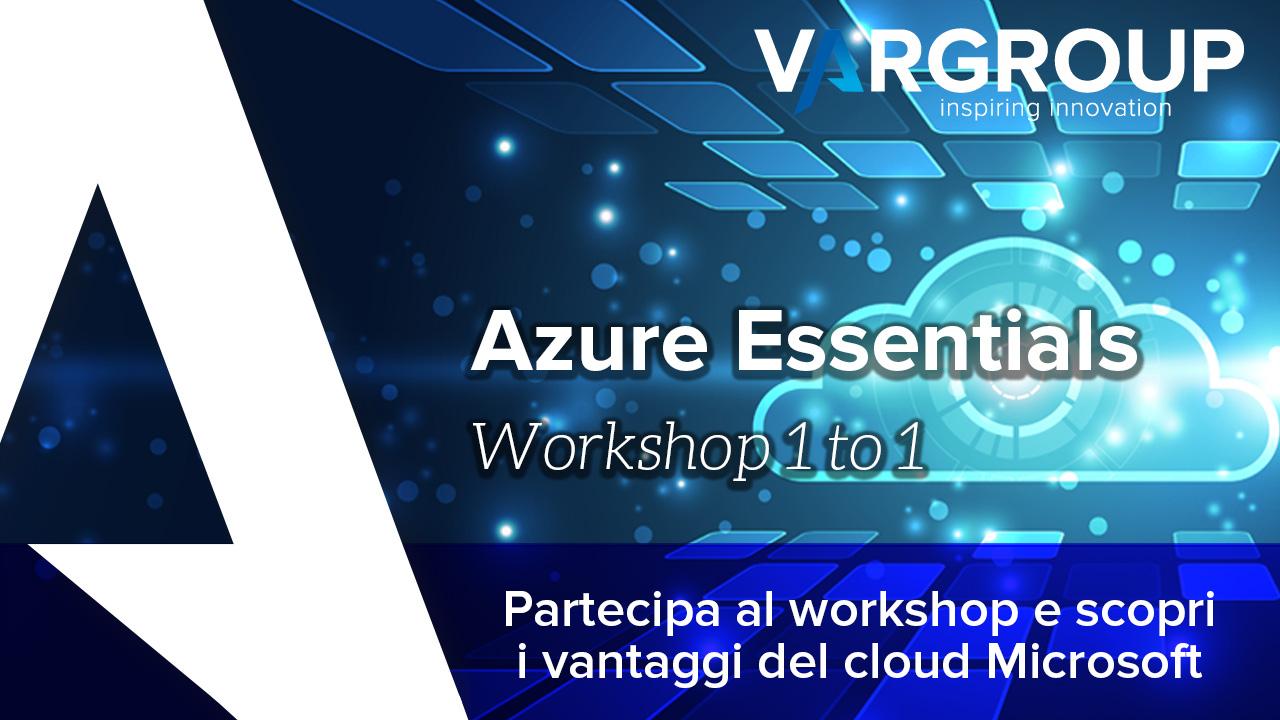 Azure Essentials Workshop 1to1